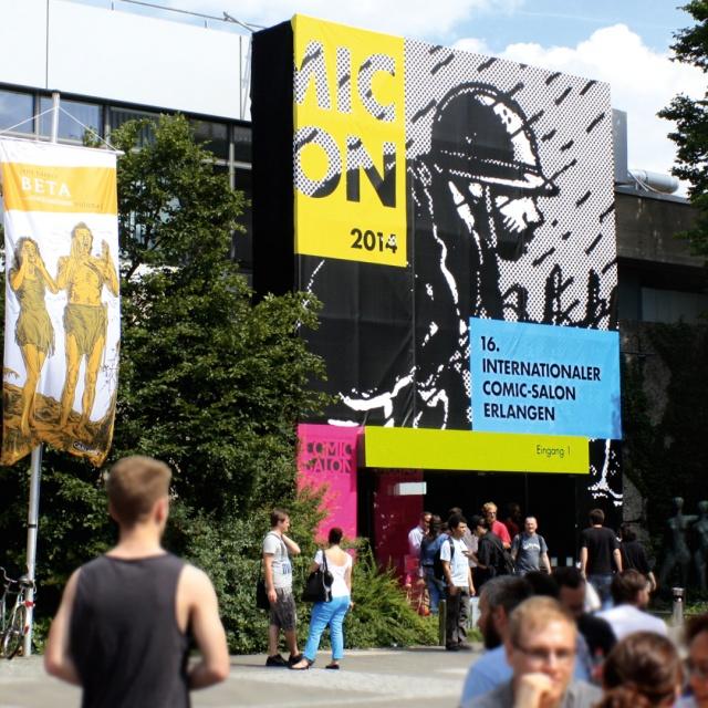 Corporate Design Comic-Salon Erlangen