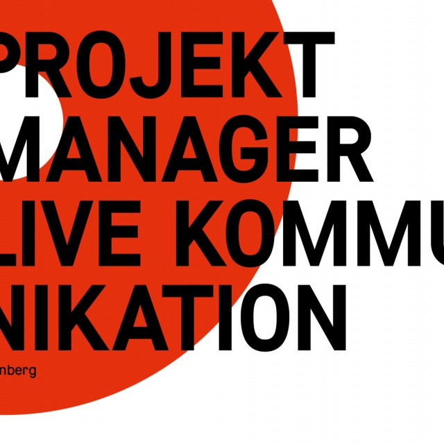 Project Manager (m/w/d) Live Kommunikation