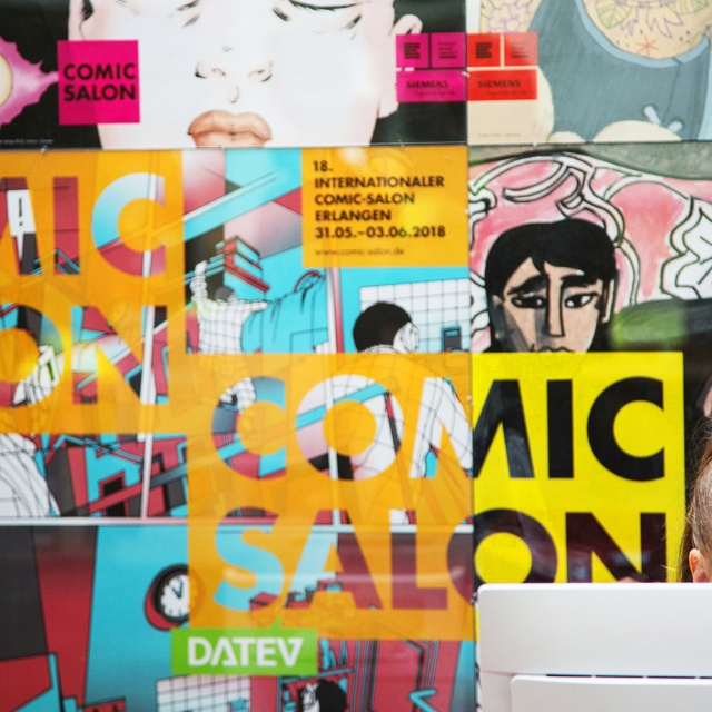 18. Internationaler Comic-Salon Erlangen